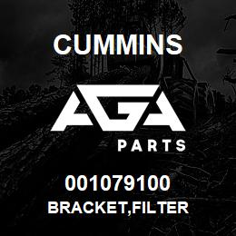 001079100 Cummins BRACKET,FILTER | AGA Parts