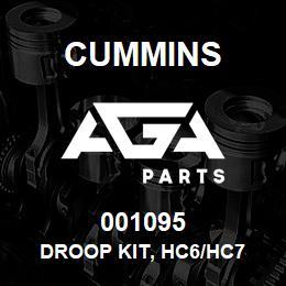 001095 Cummins Droop Kit, HC6/HC7 | AGA Parts