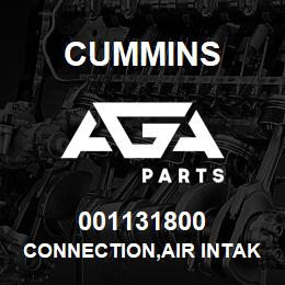 001131800 Cummins CONNECTION,AIR INTAKE | AGA Parts