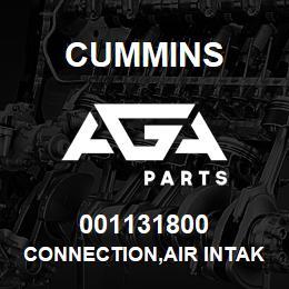 001131800 Cummins CONNECTION,AIR INTAKE   AGA Parts