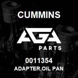 0011354 Cummins ADAPTER,OIL PAN | AGA Parts