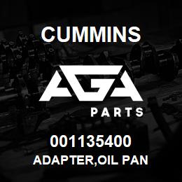 001135400 Cummins ADAPTER,OIL PAN | AGA Parts