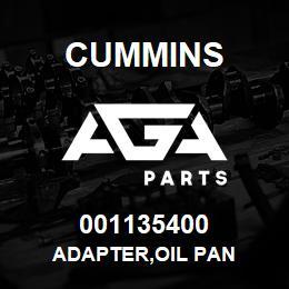 001135400 Cummins ADAPTER,OIL PAN | AGA Parts
