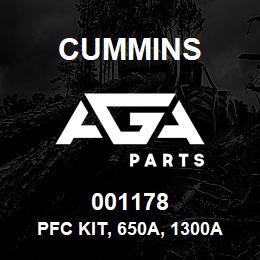 001178 Cummins Pfc Kit, 650A, 1300A   AGA Parts