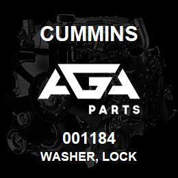 001184 Cummins Washer, Lock | AGA Parts