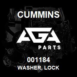 001184 Cummins Washer, Lock | AGA Parts