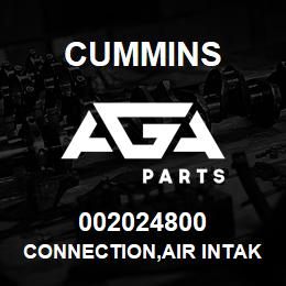 002024800 Cummins CONNECTION,AIR INTAKE | AGA Parts