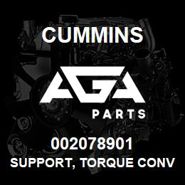 002078901 Cummins SUPPORT, TORQUE CONVERTER | AGA Parts