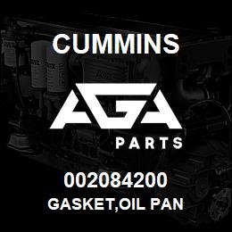 002084200 Cummins GASKET,OIL PAN | AGA Parts