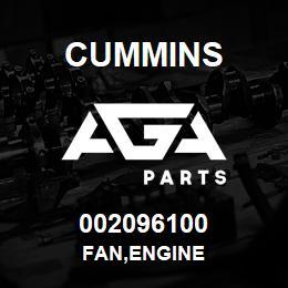 002096100 Cummins FAN,ENGINE | AGA Parts