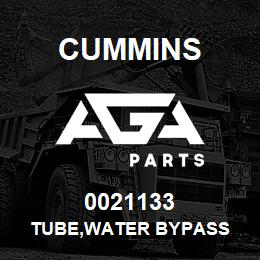 0021133 Cummins TUBE,WATER BYPASS | AGA Parts