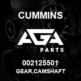 002125501 Cummins GEAR,CAMSHAFT | AGA Parts