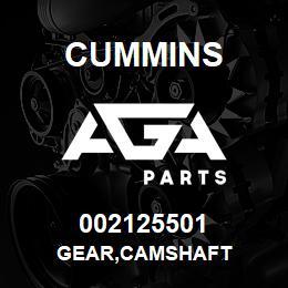 002125501 Cummins GEAR,CAMSHAFT | AGA Parts