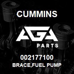 002177100 Cummins BRACE,FUEL PUMP | AGA Parts