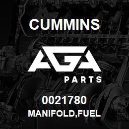 0021780 Cummins MANIFOLD,FUEL | AGA Parts