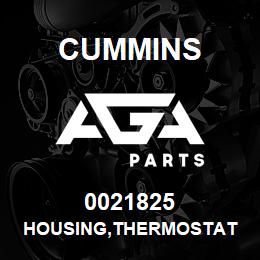 0021825 Cummins HOUSING,THERMOSTAT | AGA Parts
