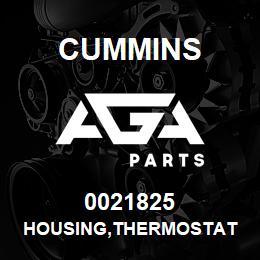 0021825 Cummins HOUSING,THERMOSTAT | AGA Parts