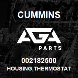 002182500 Cummins HOUSING,THERMOSTAT | AGA Parts