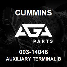 003-14046 Cummins AUXILIARY TERMINAL BOARD | AGA Parts
