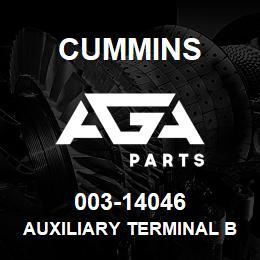 003-14046 Cummins AUXILIARY TERMINAL BOARD | AGA Parts