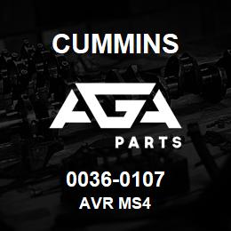 0036-0107 Cummins AVR MS4 | AGA Parts
