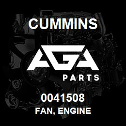 0041508 Cummins FAN, ENGINE | AGA Parts
