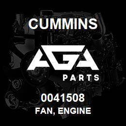 0041508 Cummins FAN, ENGINE   AGA Parts