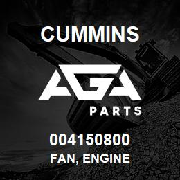 004150800 Cummins FAN, ENGINE | AGA Parts
