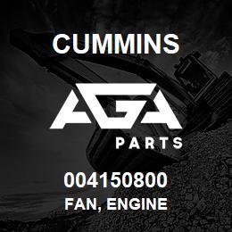 004150800 Cummins FAN, ENGINE | AGA Parts