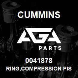 0041878 Cummins RING,COMPRESSION PISTON | AGA Parts