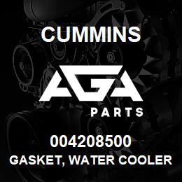004208500 Cummins GASKET, WATER COOLER | AGA Parts
