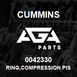 0042330 Cummins RING,COMPRESSION PISTON | AGA Parts