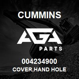 004234900 Cummins COVER,HAND HOLE | AGA Parts