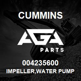 004235600 Cummins IMPELLER,WATER PUMP | AGA Parts