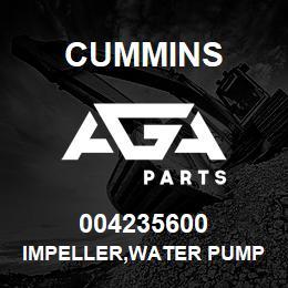 004235600 Cummins IMPELLER,WATER PUMP | AGA Parts
