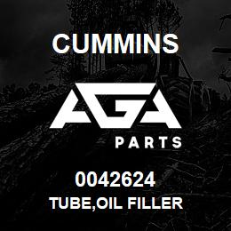 0042624 Cummins TUBE,OIL FILLER | AGA Parts