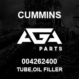 004262400 Cummins TUBE,OIL FILLER | AGA Parts