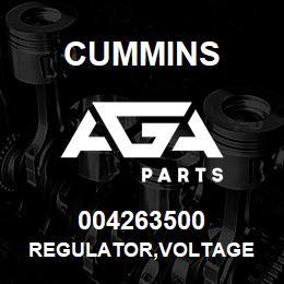 004263500 Cummins REGULATOR,VOLTAGE | AGA Parts