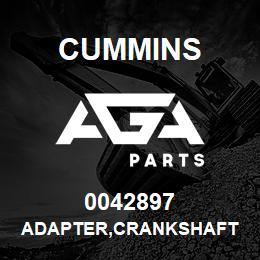 0042897 Cummins ADAPTER,CRANKSHAFT | AGA Parts