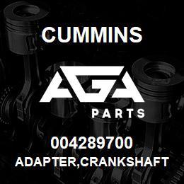 004289700 Cummins ADAPTER,CRANKSHAFT | AGA Parts
