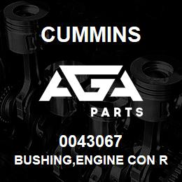 0043067 Cummins BUSHING,ENGINE CON ROD | AGA Parts