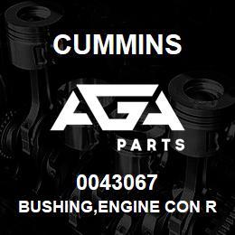 0043067 Cummins BUSHING,ENGINE CON ROD | AGA Parts