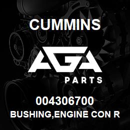 004306700 Cummins BUSHING,ENGINE CON ROD | AGA Parts