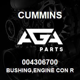 004306700 Cummins BUSHING,ENGINE CON ROD | AGA Parts