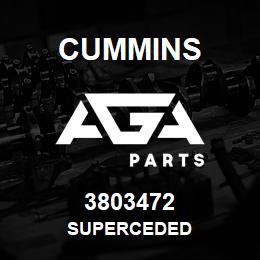 3803472 Cummins Superceded | AGA Parts