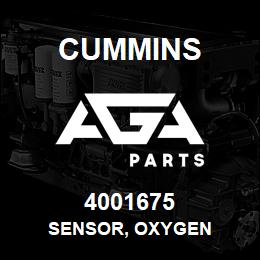 4001675 Cummins SENSOR, OXYGEN | AGA Parts