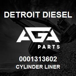 0001313602 Detroit Diesel Cylinder Liner | AGA Parts