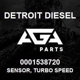 0001538720 Detroit Diesel Sensor, Turbo Speed VDO | AGA Parts