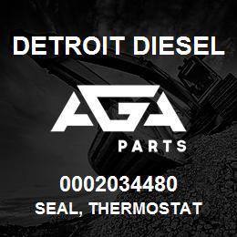 0002034480 Detroit Diesel Seal, Thermostat | AGA Parts