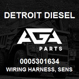0005301634 Detroit Diesel Wiring Harness, Sensor* | AGA Parts